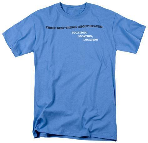 Three Things Heaven T-Shirt