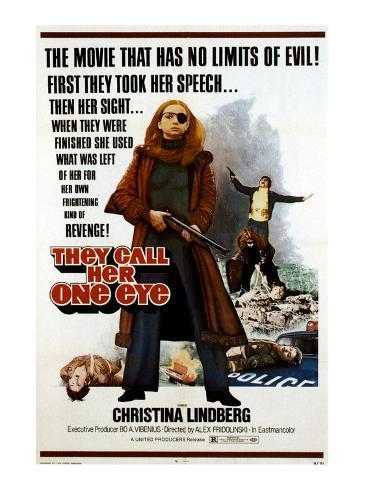Thriller: A Cruel Picture, Christina Lindberg, 1974 写真