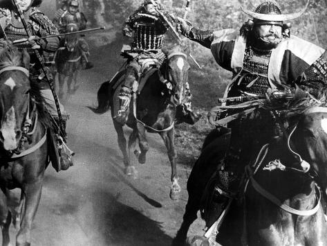 Throne Of Blood, (AKA Kumonosu Jo), Toshiro Mifune, 1957 Foto