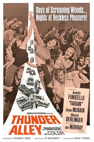 THUNDER ALLEY, 1967 Art Print