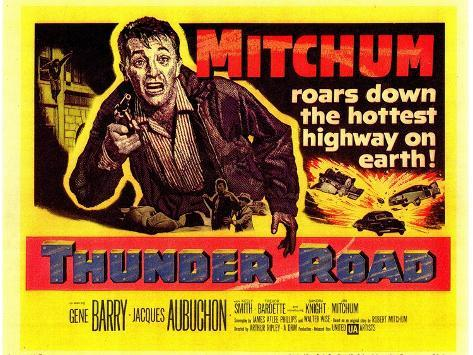 Thunder Road, 1958 Art Print