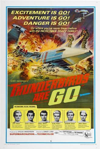 Thunderbirds Are Go Poster