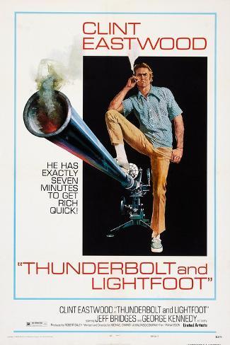 Thunderbolt and Lightfoot, Clint Eastwood, 1974 Art Print