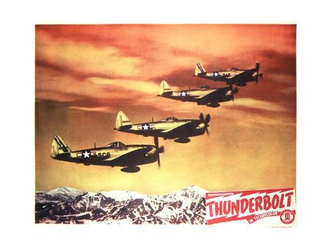 Thunderbolt - Lobby Card Reproduction Premium Giclee Print