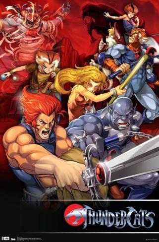 Thundercats - Classic Poster
