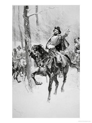 Portrait of General Nathan Bedford Forrest Giclee Print
