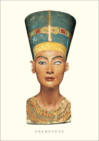 Bust of Nefertiti Art Print