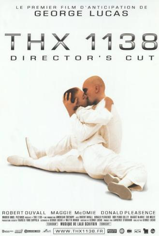 THX-1138 - French Style Poster