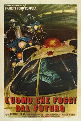 THX-1138 - Italian Style Poster