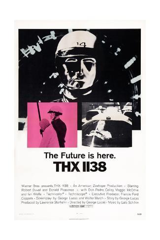Thx 1138 Giclee Print