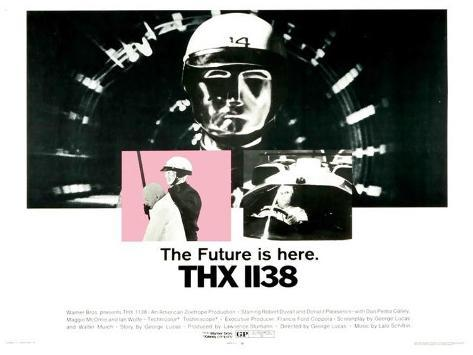 THX-1138 Poster