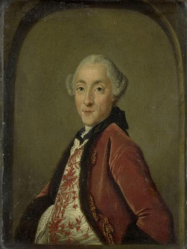 Portrait of Pieter Nicolaas Rendorp, Amsterdam Brewer Art Print