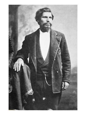 Tiburcio Vasquez Lámina giclée