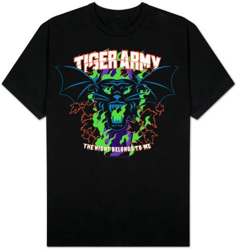 Tiger Army - Night belongs to me T-Shirt