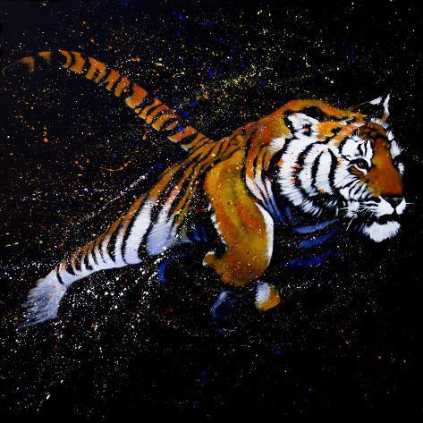 Tiger Jumping Prints - AllPosters.co.uk