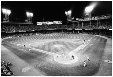 Tiger Stadium Detroit Tigers Black White Archival Photo