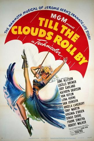 Till the Clouds Roll By, 1946, Directed by Richard Whorf Lámina giclée