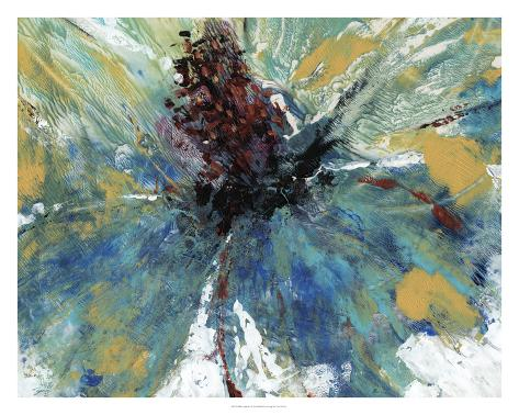 Blue Splash I Giclee Print