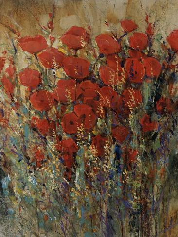 Flower Field II Giclee Print