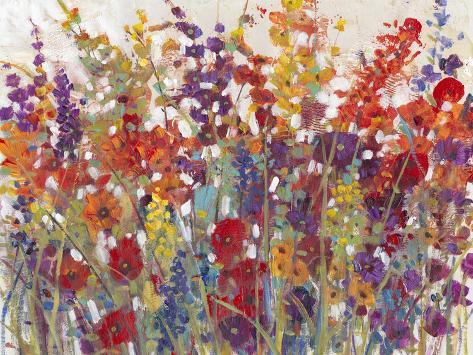 Variety of Flowers II Art Print