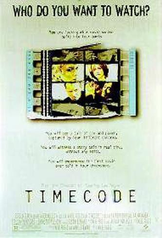 Time Code Póster original
