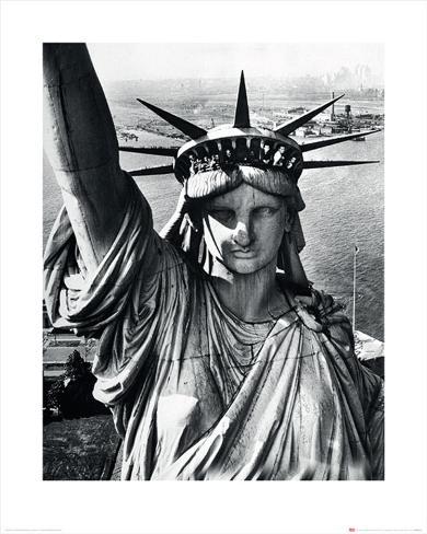 Time Life - Statue of Liberty Art Print