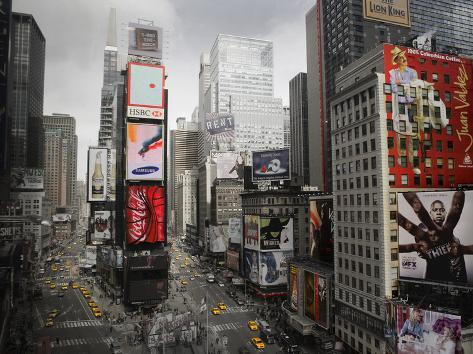 Times Square Rising Impressão artística