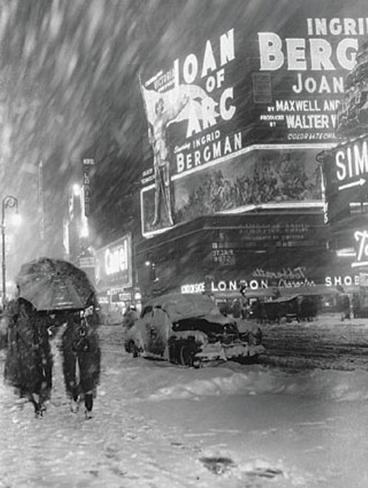 Times Square Impressão artística emoldurada