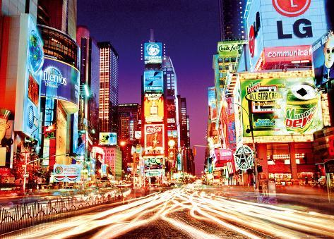 Times Square Giant Poster