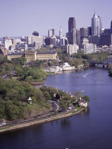 Schuylkill River, Philadelphia Photographic Print