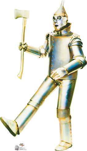 Tin Man - Wizard of Oz 75th Anniversary Lifesize Standup Cardboard Cutouts
