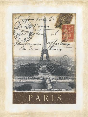 Destination Paris Konstprint