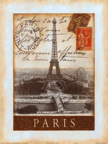 Destination Paris Art Print