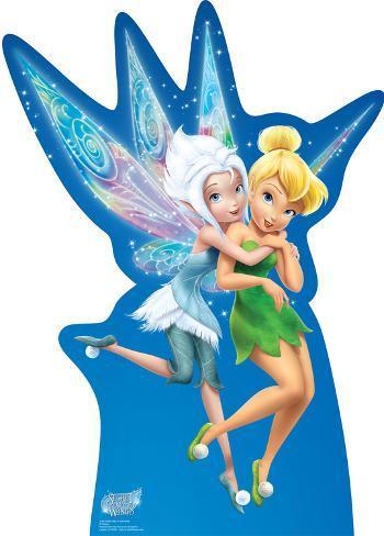 Tinker Bell & Periwinkle - Secret of the Wings - Disney Lifesize Standup Cardboard Cutouts
