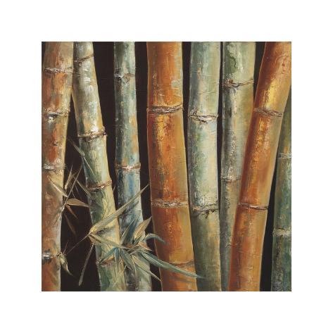 Caribbean Bamboo I Giclee Print