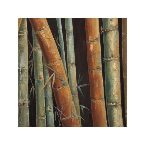 Caribbean Bamboo II Giclee Print