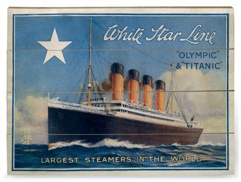 Titanic (1997) Träskylt