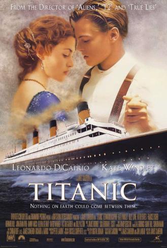 Titanic Stampa su tela