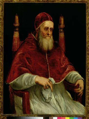 Pope Julius II Lámina giclée