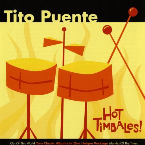 Tito Puente, Hot Timbales Art Print