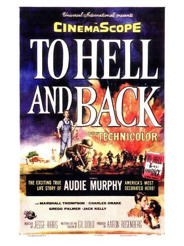 To Hell and Back, 1955 Art Print