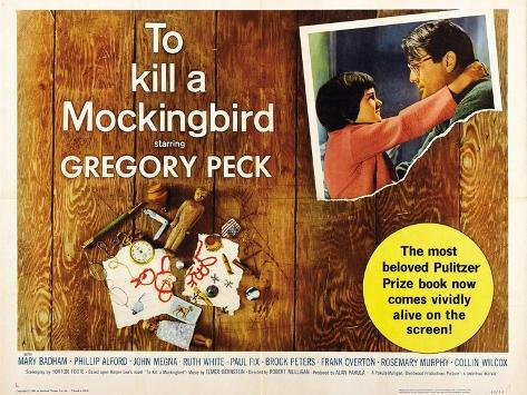 To Kill a Mockingbird, 1962, Directed by Robert Mulligan Impressão giclée