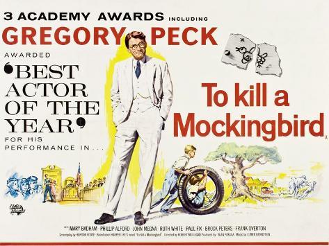 To Kill a Mockingbird, 1962 Giclee Print