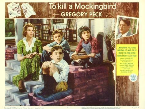 To Kill a Mockingbird, 1963 Art Print