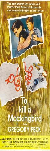 To Kill a Mockingbird, 1963 Konstprint