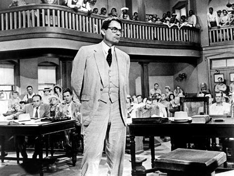 To Kill A Mockingbird, Gregory Peck, 1962 Photo