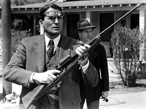 To Kill a Mockingbird, Gregory Peck, Frank Overton, 1962 Foto