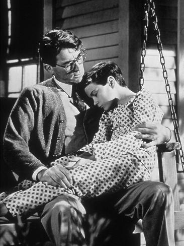 To Kill A Mockingbird, Gregory Peck, Philip Alford, 1962 Photo