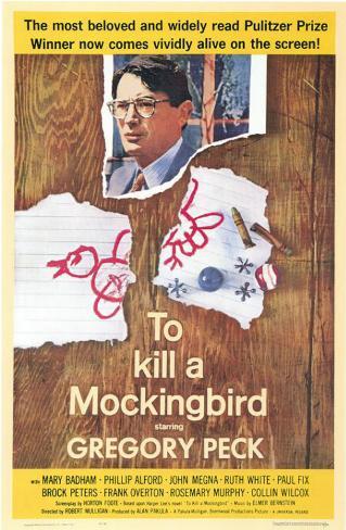 To Kill a Mockingbird Stampa master