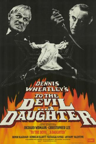 To the Devil … A Daughter Art Print